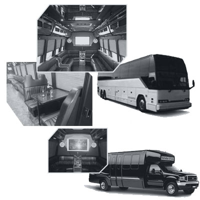 Party Bus rental and Limobus rental in Manhattan, NY