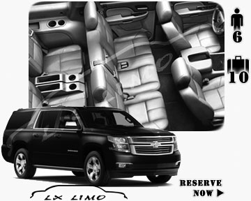 SUV Suburban for hire in Manhattan