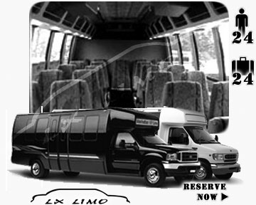 Bus for airport transfers in Manhattan, NY