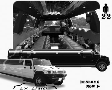 hummer H2 SUV Limousine rental in Manhattan, NY