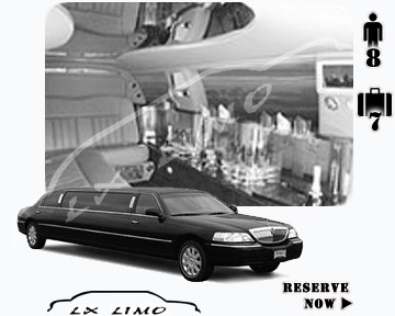 Stretch TownCar Limo for hire in Manhattan, NY
