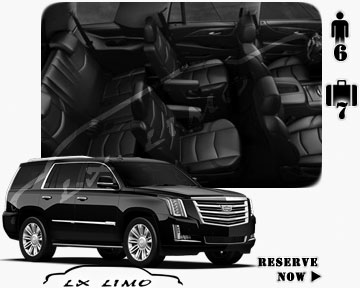 SUV Escalade for hire in Manhattan, NY