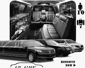 Manhattan Town Car Stretch Limo for rental